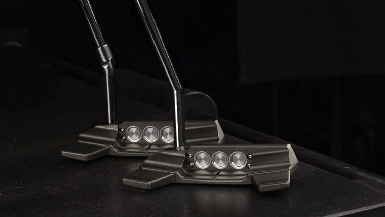 Scotty Cameron Concept X putters from the back side