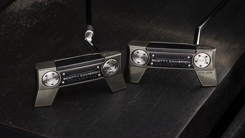 Scotty Cameron Concept X putters image of the 2 versions