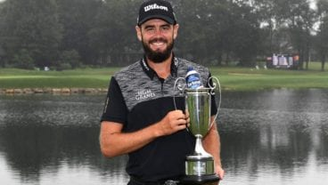 Troy Merritt won the Barbasol Championship in 2018