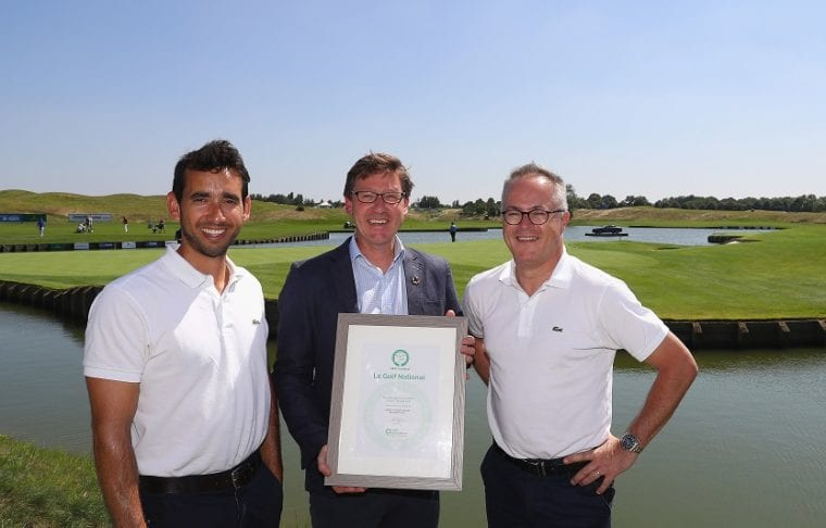 Le Golf National has retained GEO (sustainability) certification