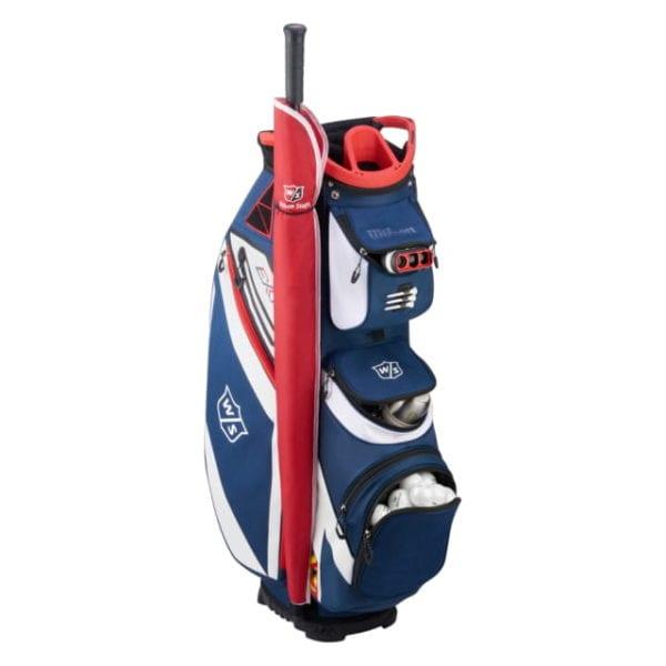 Wilson Staff eXo bolf bag family_EXO_CART_NAWHRD_Pocket_Organization-1