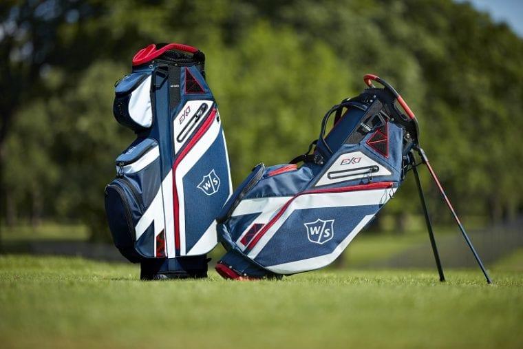 Wilson Staff eXo golf bag family lifestyle photo
