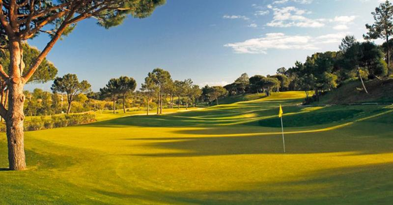 Pinheiros Altos Golf Resort near to the hole Algarve