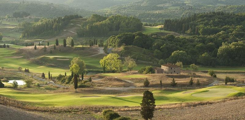 Toscana Resort Castelfalfi_view of the valley in Italy