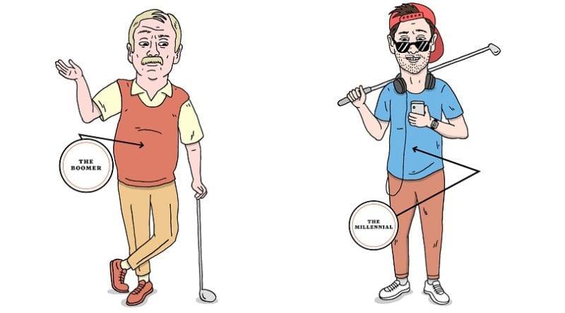 baby-boomer-millennial-golfers
