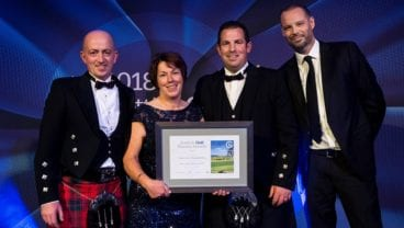 Carnoustie Golf Links - Scottish Golf Tourism Awards 2018 - team