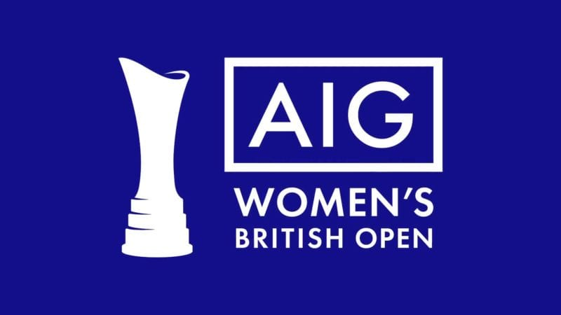 aig is the new title sponsor of the women u2019s british open