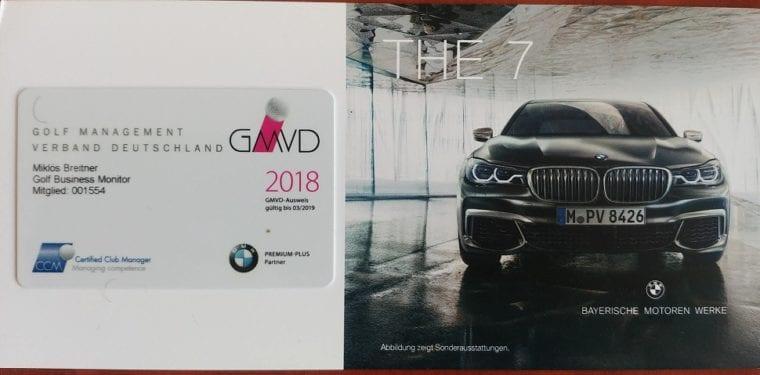 My Golf Management Verband Deutschland membership & the German golf industry