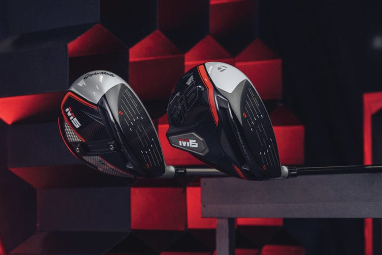 TaylorMade M5 driver with the M6 driver