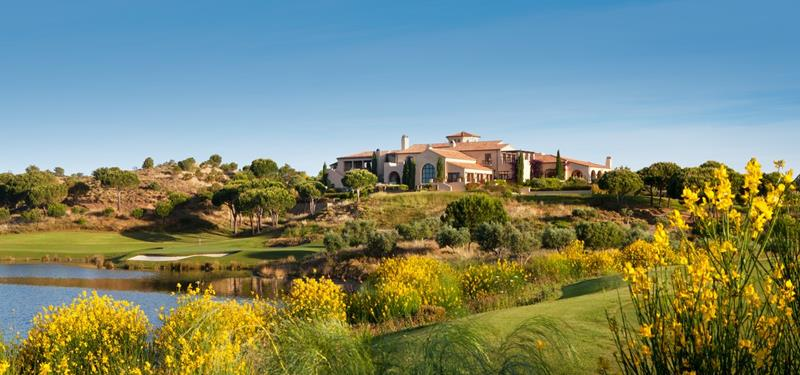 Monte Rei Golf & Country Club clubhouse
