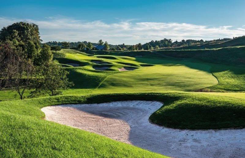 LedgeRock Golf Club - 13th hole Par5 Rees Jones design
