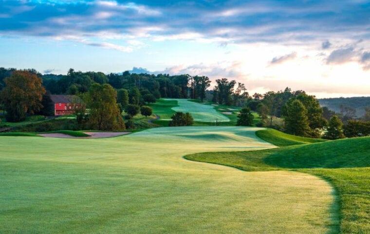 LedgeRock Golf Club - 8th hole Par5 - Rees Jones Design