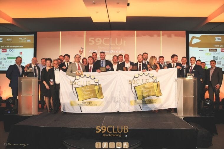 59club Service Excellence Awards' 2017-18 award winners