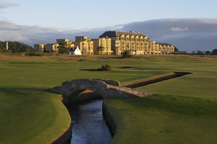 The Old Course Hotel, venue for this year's 59club Service Excellence Awards