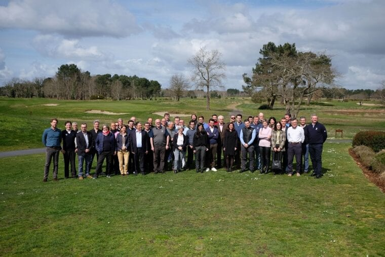 Open Golf Club all staff meeting conference