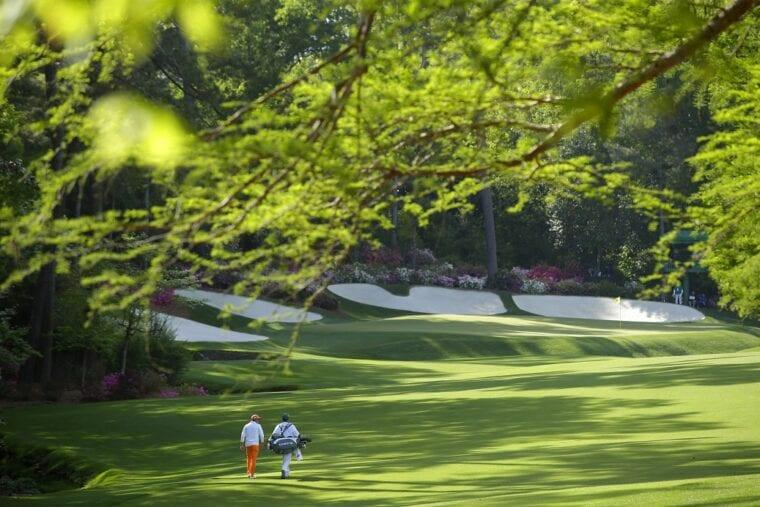 Augusta National Golf Club Rolex sponsorship 20 years golfers