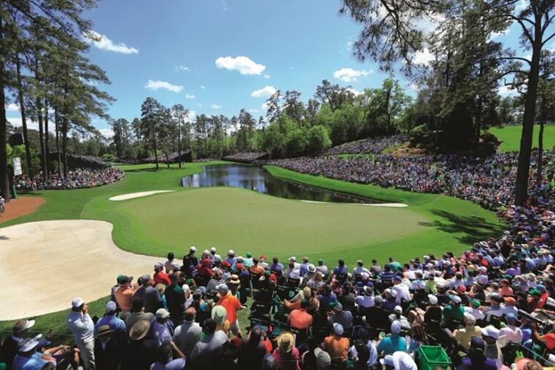 Augusta National Golf Club Rolex sponsorship crowd