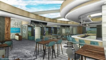 Topgolf Lounge - Kirkland Lounge Renderings-Interior