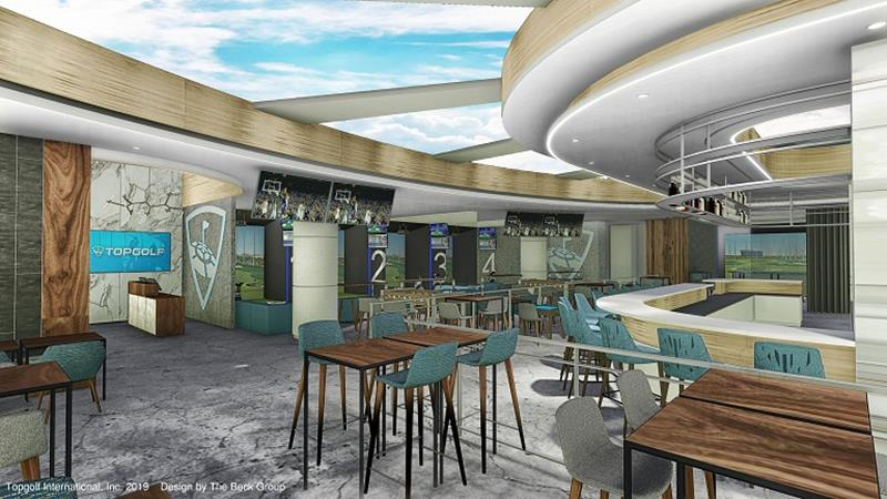 Topgolf Lounge - Kirkland Lounge Renderings-Interior