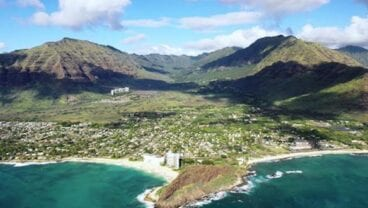 The Leeward Coast of Oahu, home of Mākaha Valley Resort