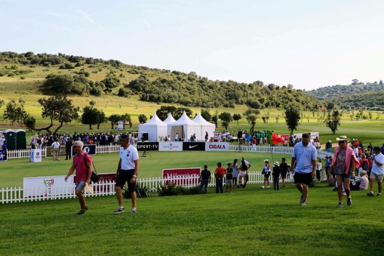 Morgado Golf Resort during the Portugal Open