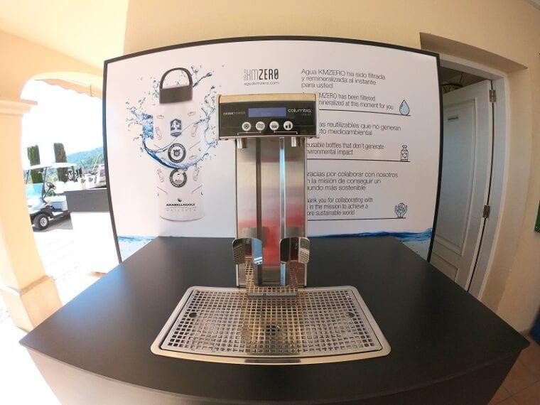Arabella Golf Mallorca - automatic water dispenser