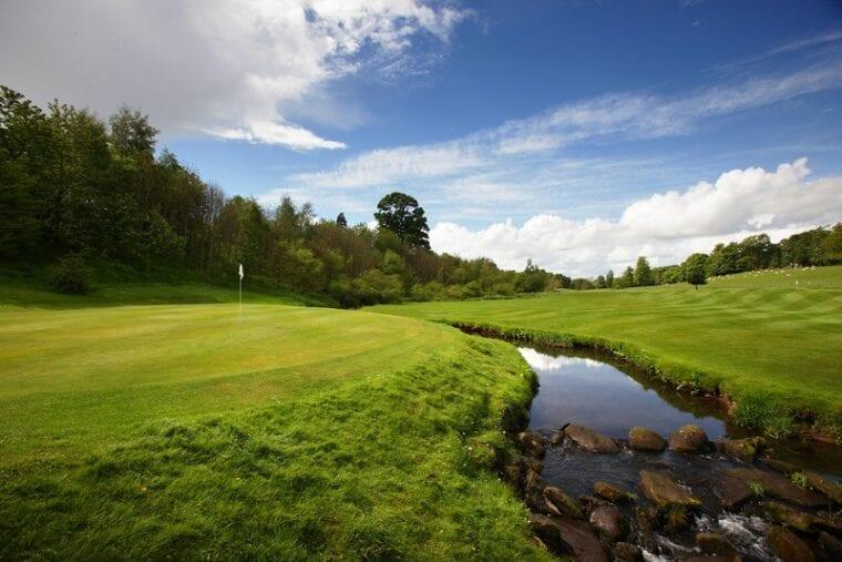Dalmahoy Hotel & Country Club West Course 16th Green 59Club golf club customer experience