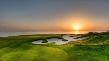 Greg Norman-designed course at Al Mouj Golf