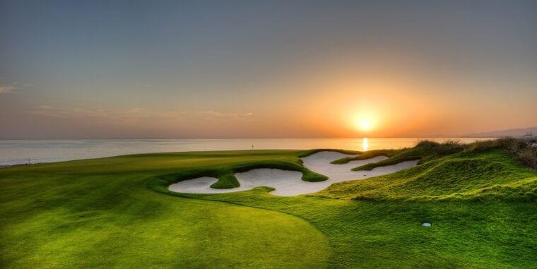 Greg Norman-designed course at Al Mouj Golf