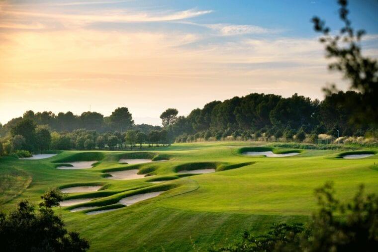 Real Club de Golf El Prat golf course and La Mola