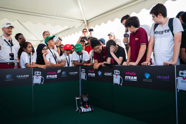 ParOne Invitational STEAMathalon golf robot is tested