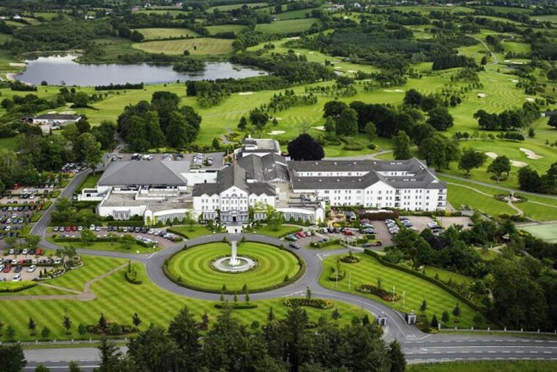 Slieve Russell Hotel Golf Country Club from the sky