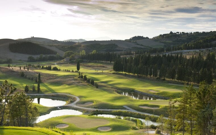 Toscana Resort Castelfalfi Italian golf tourism