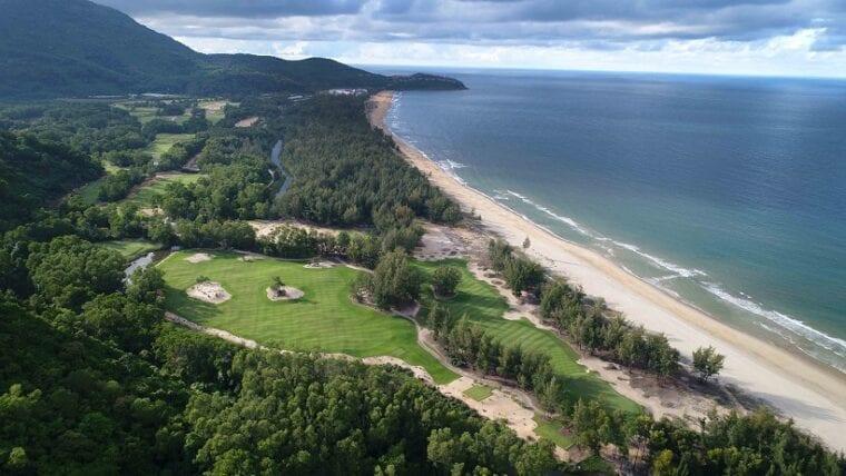 View over the 10th hole at the Faldo Signature Design Laguna Golf Lang Co