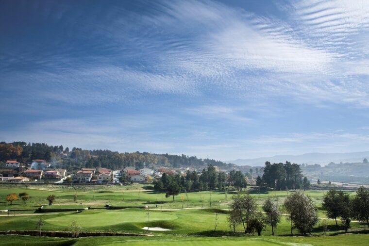 Vidago Palace golf course from new angle