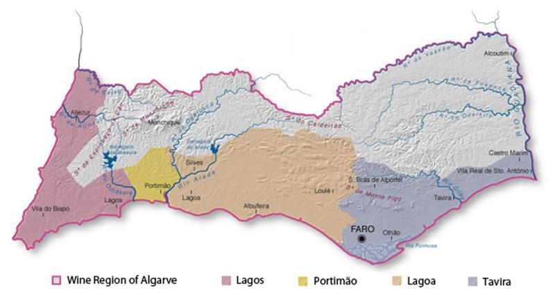 wine regions -algarve-regions-with-designation-of-origin