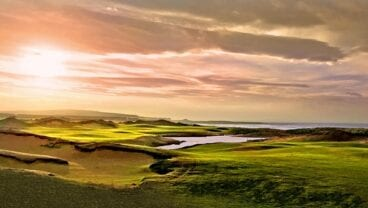 Dumbarnie Links golf course in Fife, Scotland