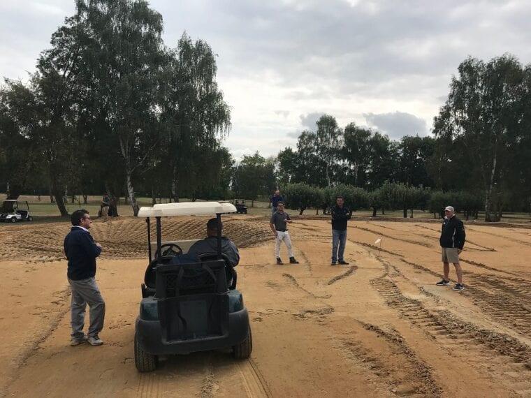 Golf Club Pfalz renovation in progress