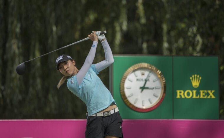 Evian Championship with Rolex as the main sponsor