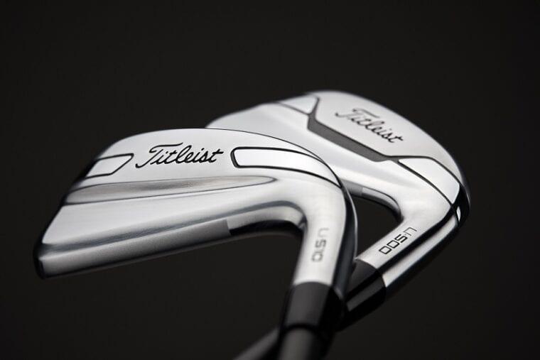 Titleist U-Series utility iron-2 clubs black and white