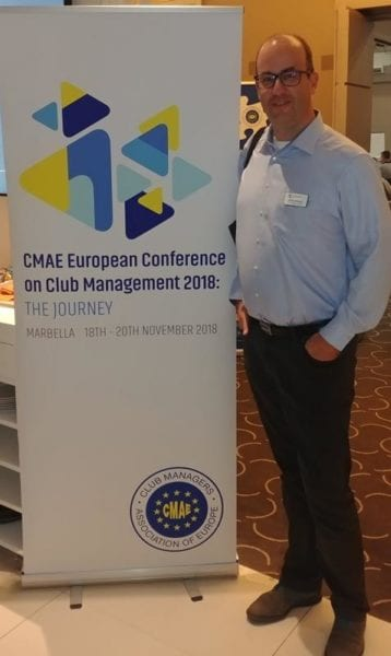 Miklos Breitner Golf Business Monitor CMAE Conference 2018