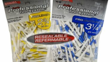 Pride Professional Tee System -Wood-Resealable-75CT-White-GROUP