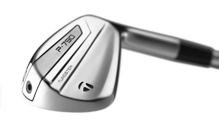 TaylorMade P790 irons close look 1