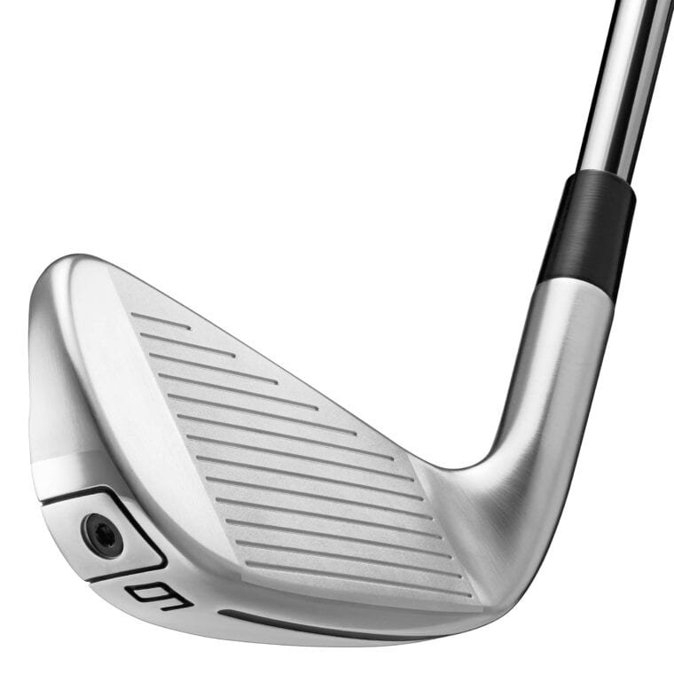 TaylorMade P790 irons close look of the face