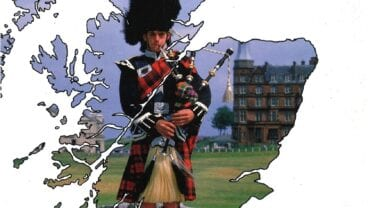 VisitScotland golf tourism promotion in 1991