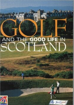 VisitScotland golf tourism promotion in 2000