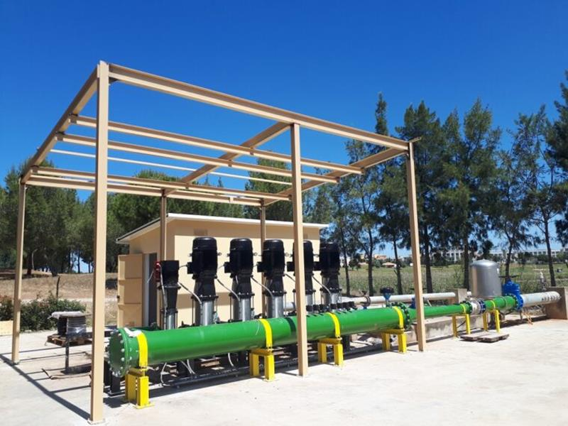 The new hydraulic systems will be 23% more energy efficient at Dom Pedro Golf