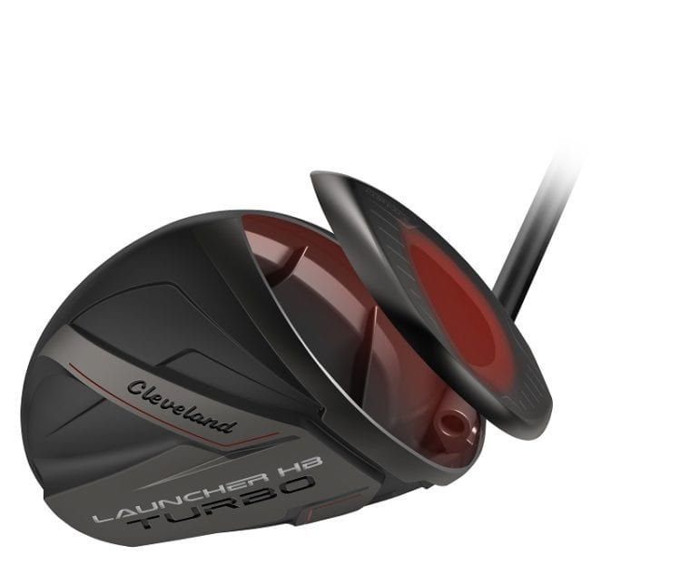 Cleveland Golf Launcher HB Turbo driver and its face
