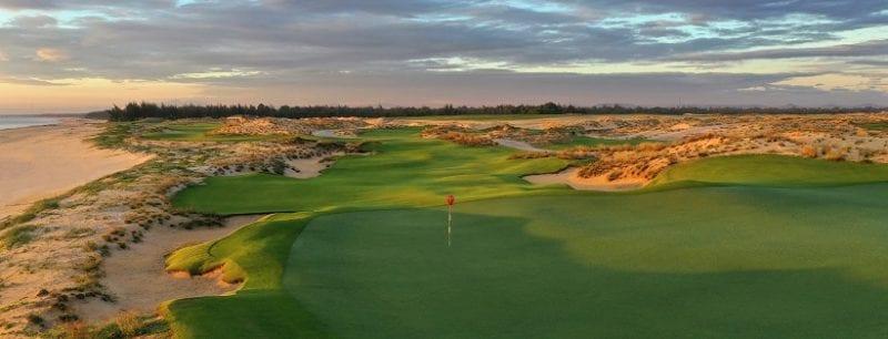 Hoiana Shores Golf Club 17th hole backwide