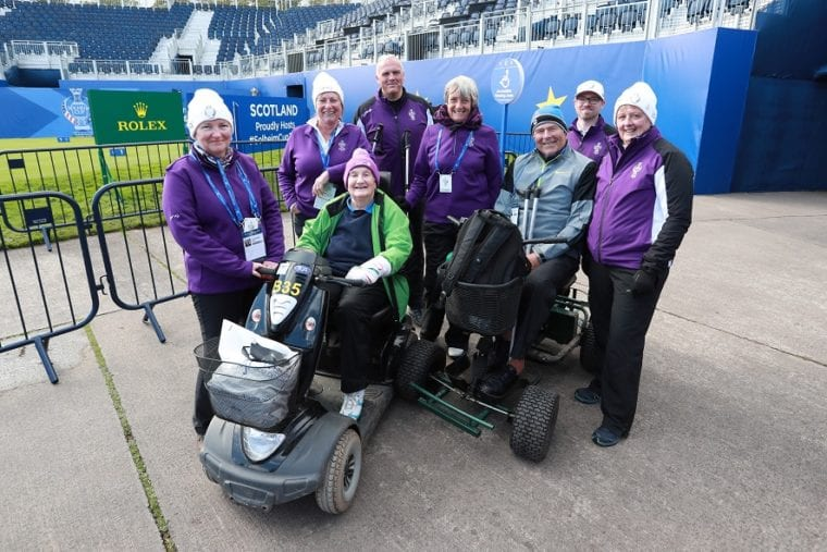 Mobility at the 2019 Solheim Cup